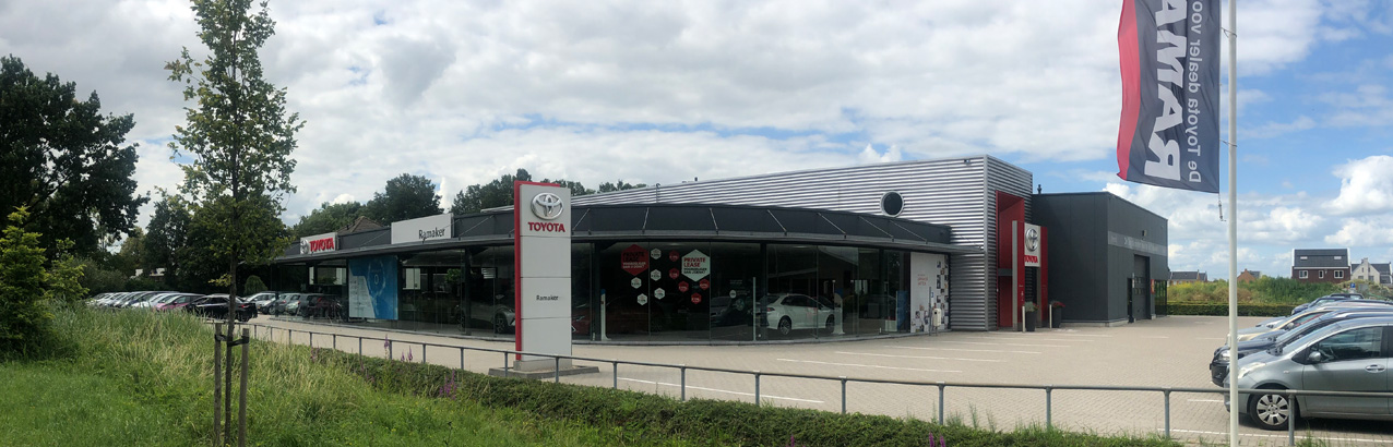 Pand-Ramaker toyota in hattem