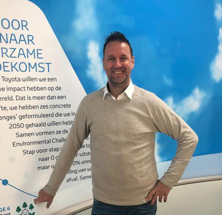 Johan Ramaker, de Toyota dealer voor Hattem