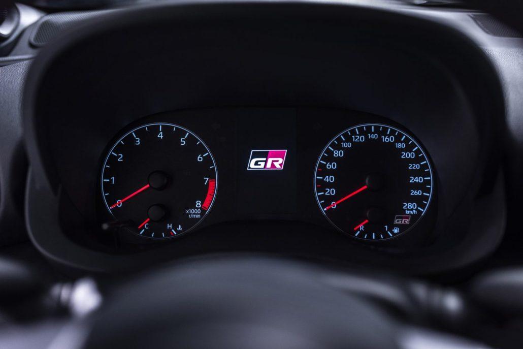 Dashboard High-performance-Toyota-GR-Yaris