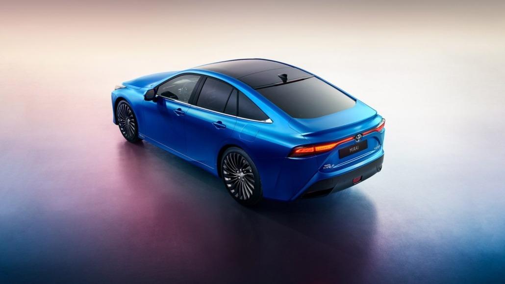 Toyota-geeft-prijs-2e-generatie-waterstof-elektrische-Mirai-vrij