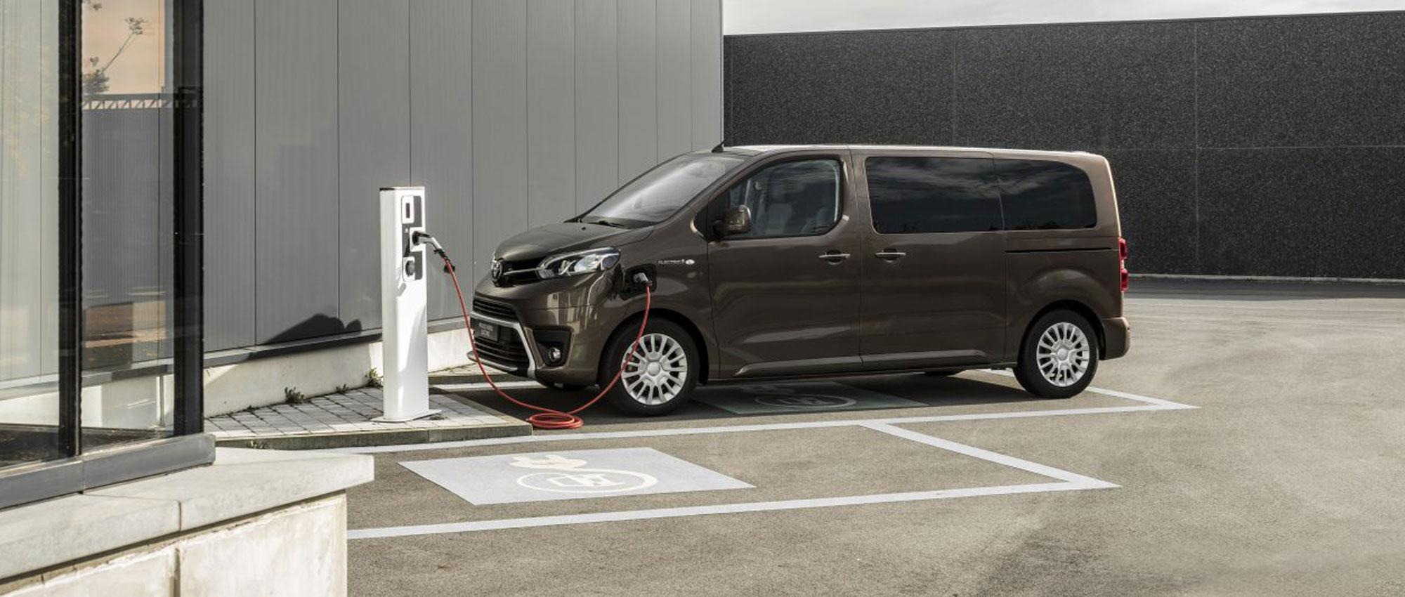 Toyota-proace-electric garage ramaker hattem