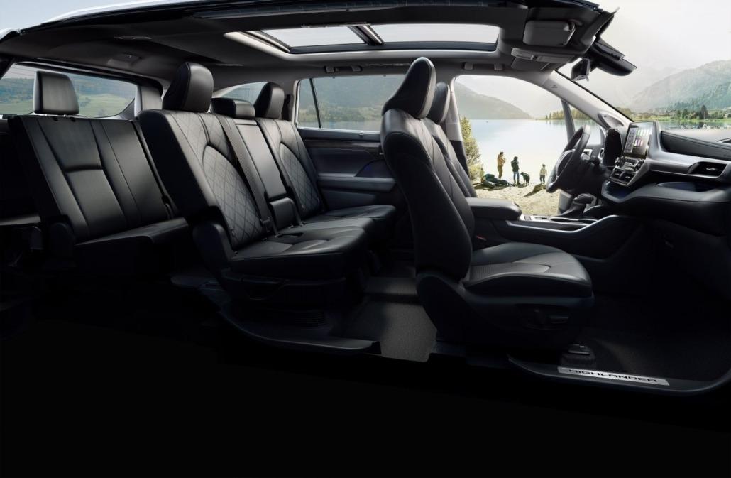 Toyota-Highlander-ruimte